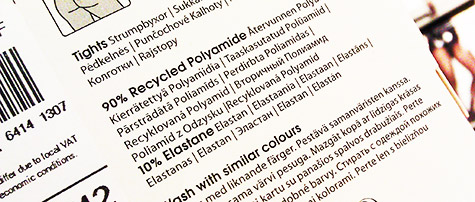 Lindex / kierratetty polyamidi